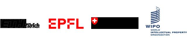 ETH Zürich, EPFL, Confédération suisse, WIPO