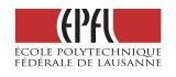 Ecole Polytechnique Fédérale de Lausanne